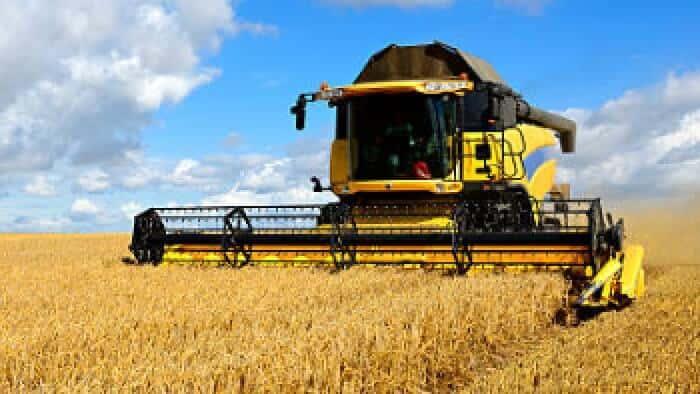 Utilize Hi AgroPro para abastecer as ceifeiras debulhadoras do seu negócio