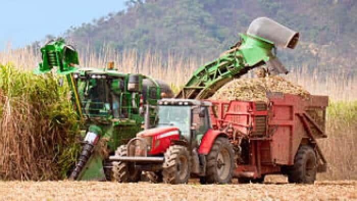 Utilize Hi AgroPro para abastecer as máquinas de colheita do seu negócio
