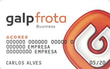 Conheça o cartão Galp Frota Business para os Açores