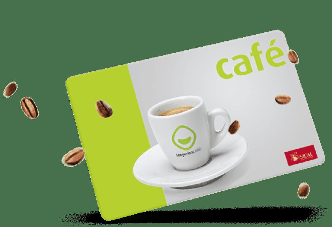 Conheça a oferta de cadernetas de cafés numa loja Tangerina