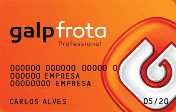 Saiba mais sobre o cartão Galp Frota Professional