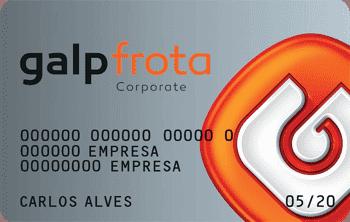 Saiba mais sobre o cartão Galp Frota Corporate