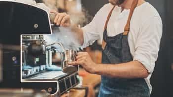 Utilize os equipamentos Galp no seu café ou restaurante