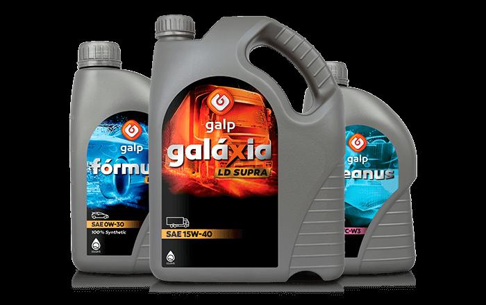 Descubra as gamas de lubrificantes, disponíveis nos postos Galp
