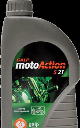 Más información sobre el lubricante Galp Moto Action